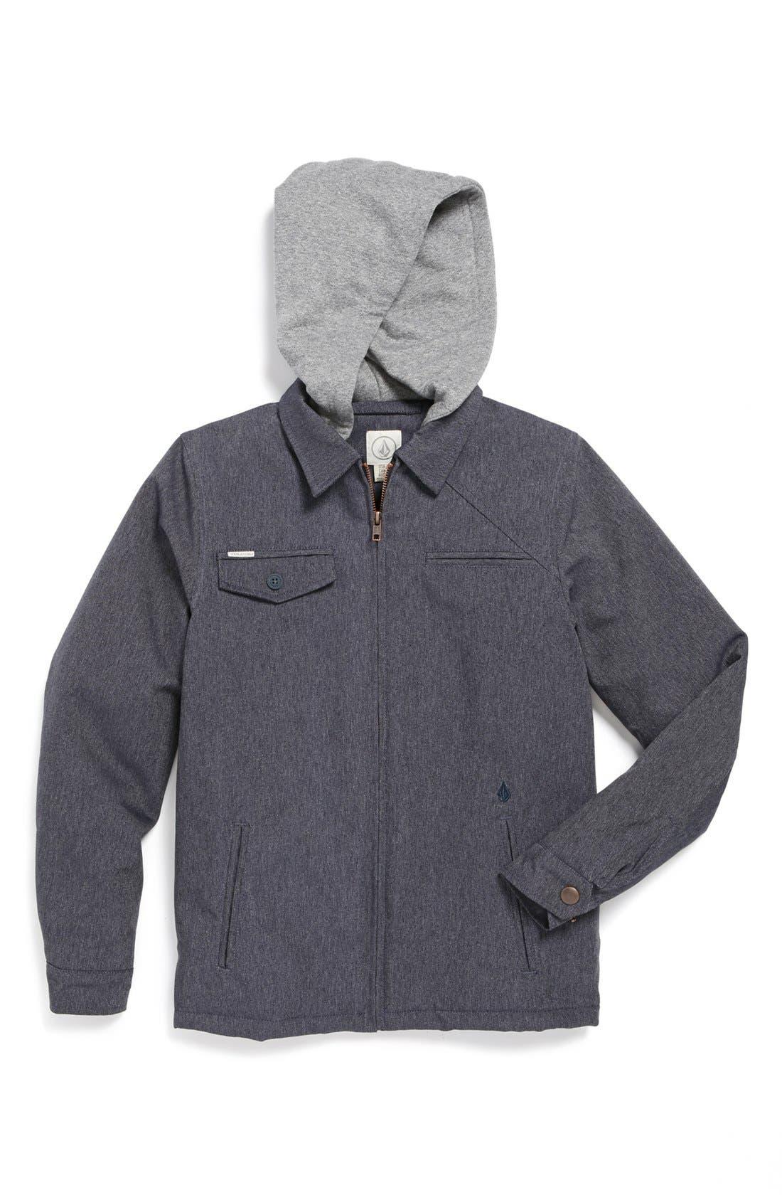 Main Image - Volcom Knit Hood Jacket (Big Boys)