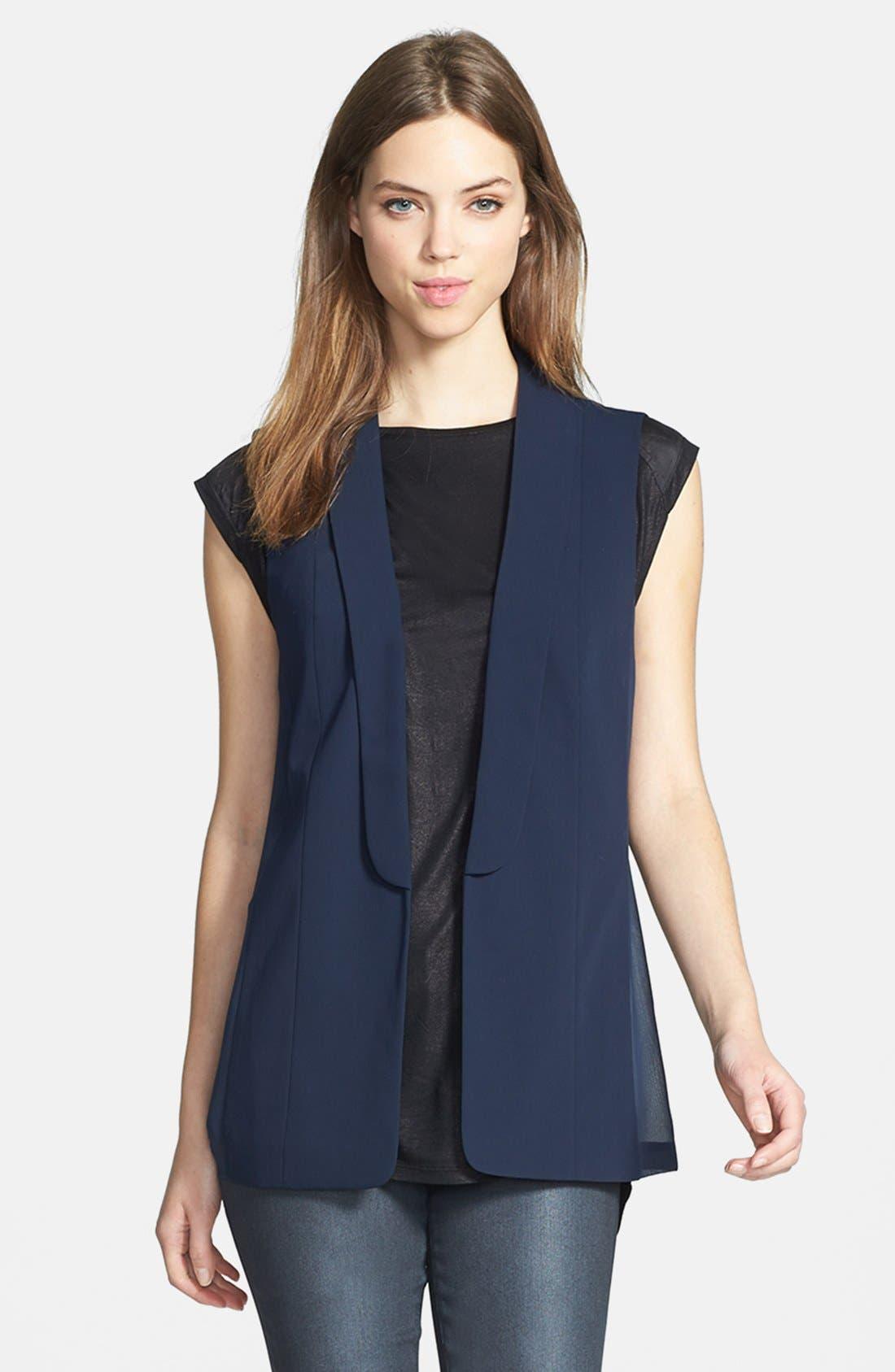 Main Image - Trouvé Blazer-Style Vest