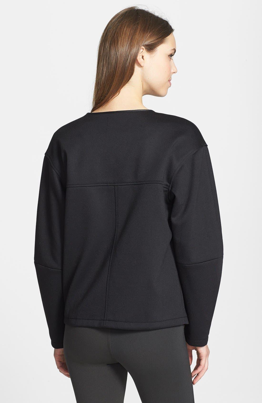 Alternate Image 3  - Trouvé Colorblock Collarless Jacket