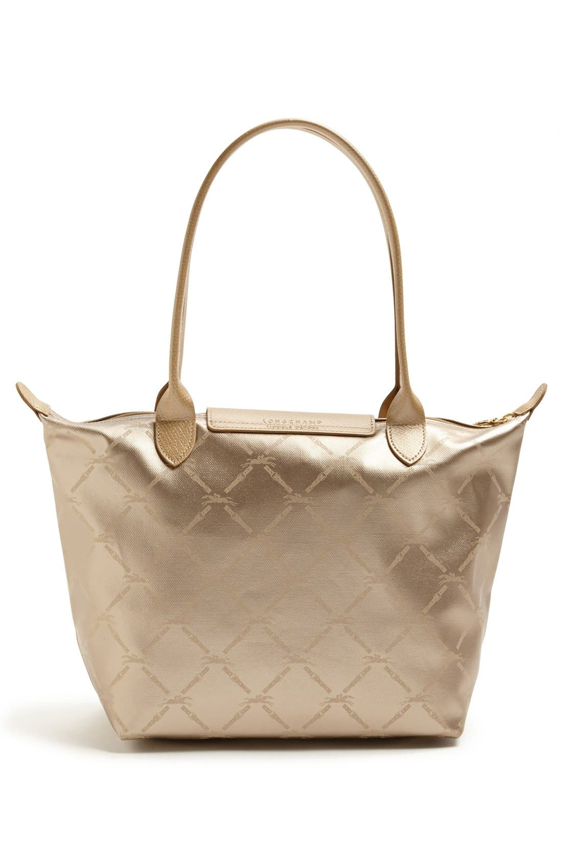 Alternate Image 3  - Longchamp 'Medium LM Métal' Shoulder Tote