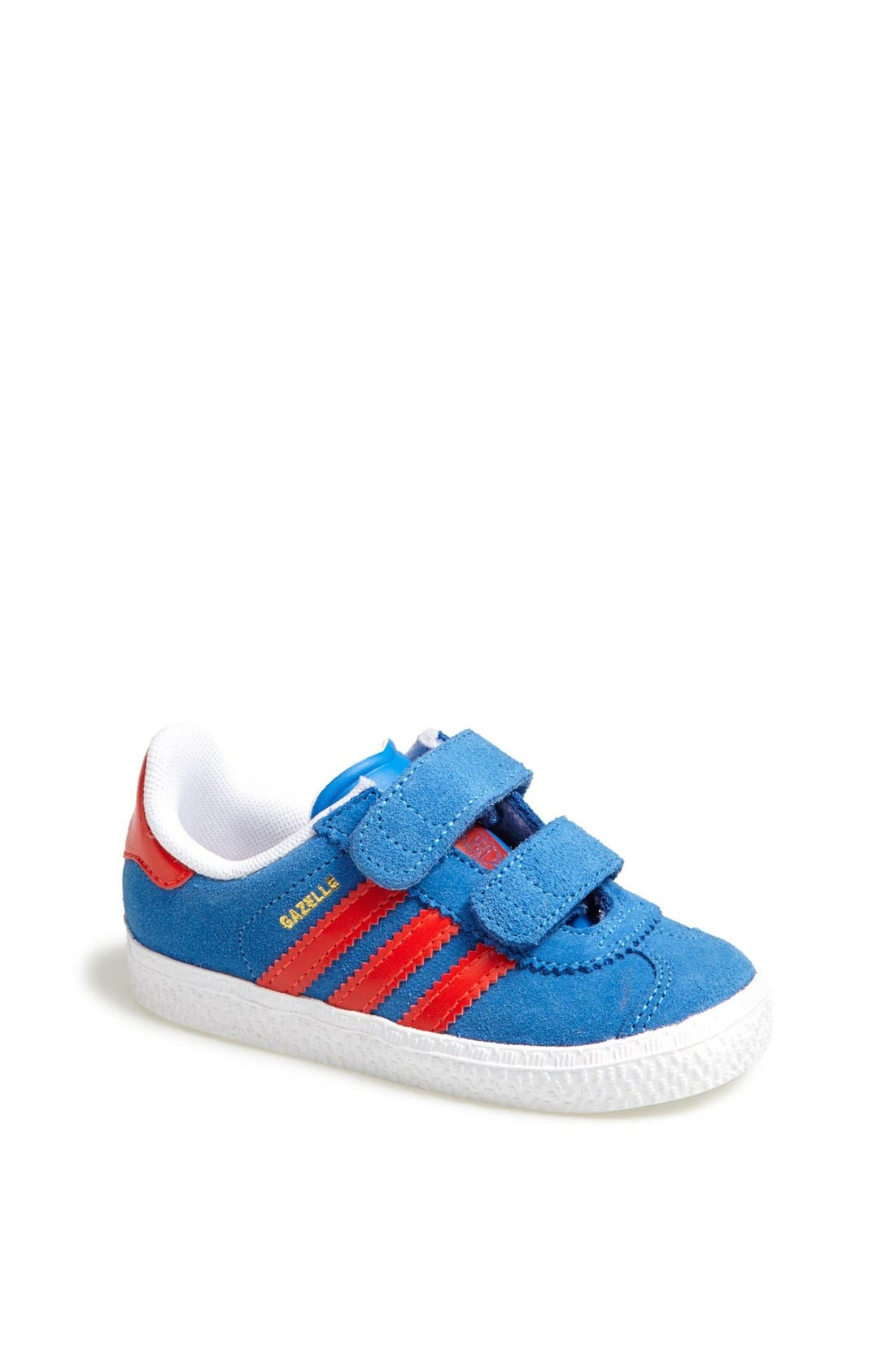 Main Image - adidas 'Gazelle 2' Sneaker (Baby, Walker & Toddler)
