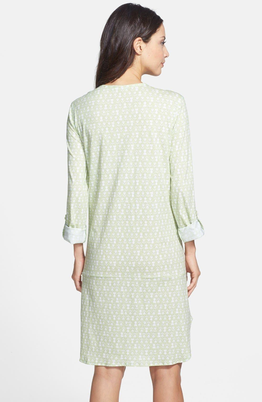 Alternate Image 2  - Carole Hochman Designs 'Radiant Dots' Sleep Shirt
