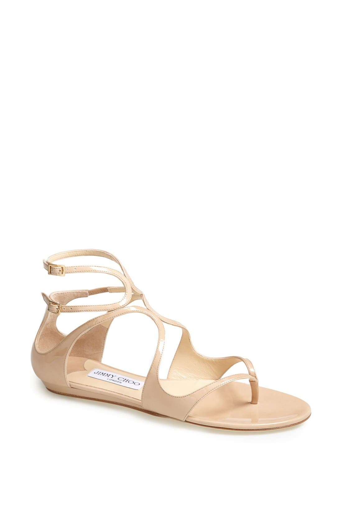 Alternate Image 1 Selected - Jimmy Choo 'Leja' Thong Sandal
