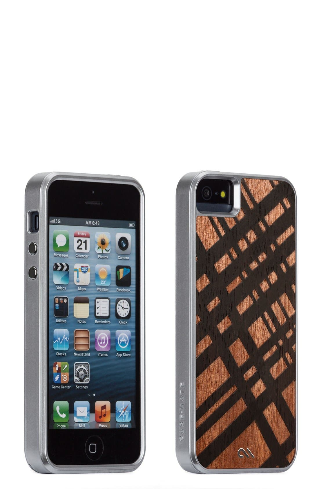 Alternate Image 1 Selected - Case-Mate® 'Crafted Collection' Hardwood iPhone 5 & 5s Case