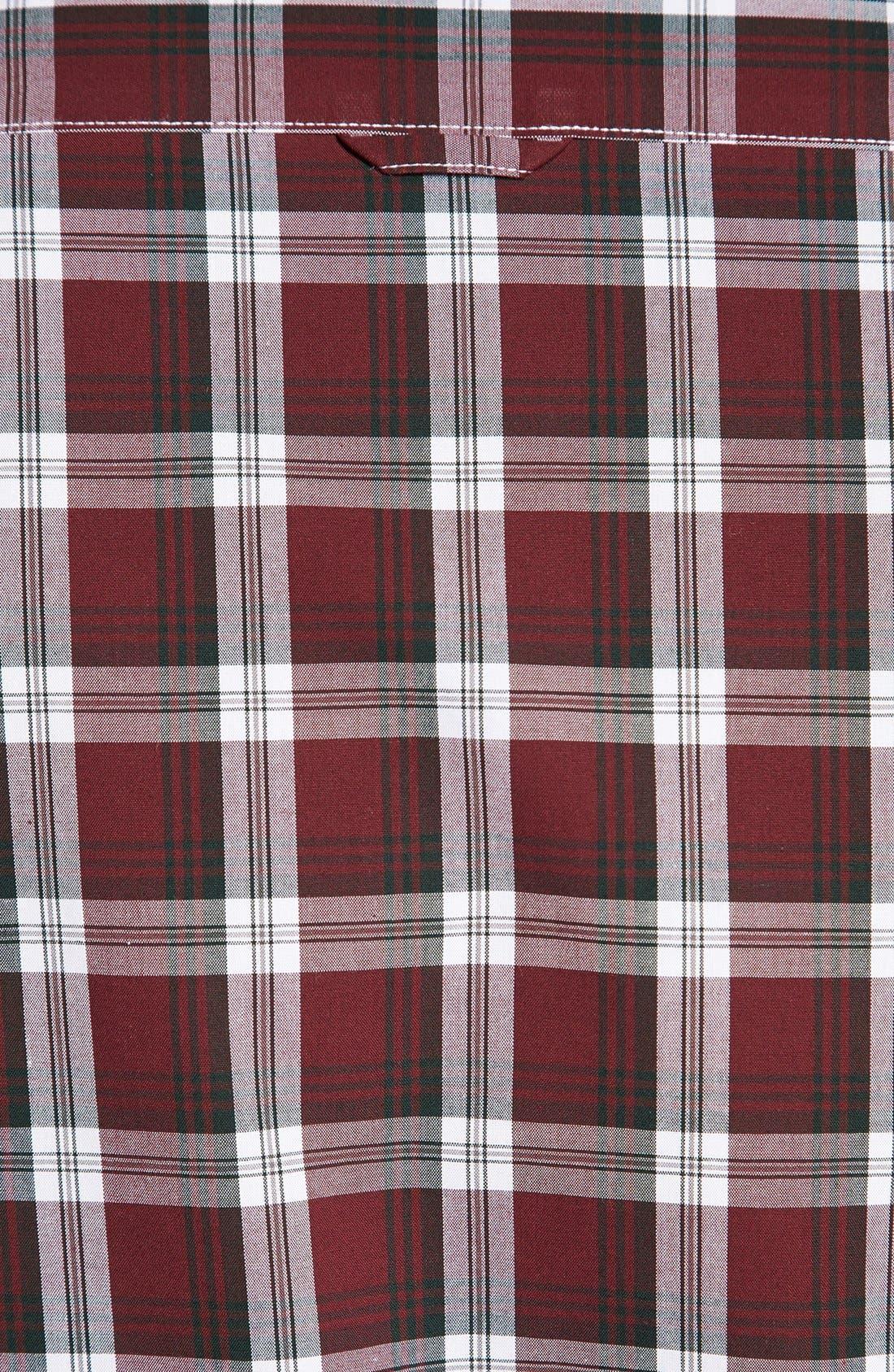Alternate Image 3  - Nordstrom Smartcare™ Regular Fit Plaid Sport Shirt