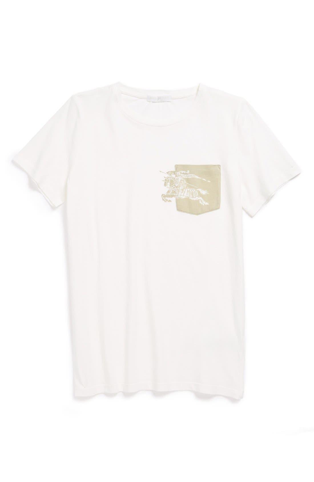 Main Image - Burberry 'Hackett' T-Shirt (Toddler Boys, Little Boys & Big Boys)