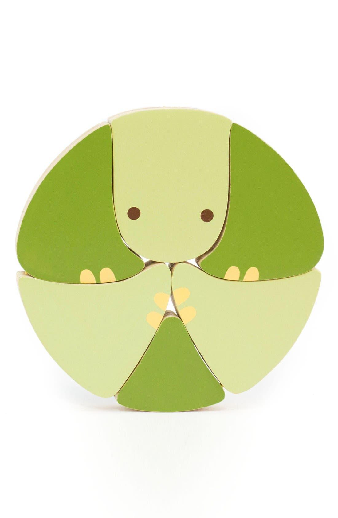 Alternate Image 1 Selected - Skip Hop 'Giraffe Safari - Flip & Play Turtle' Wooden Toy