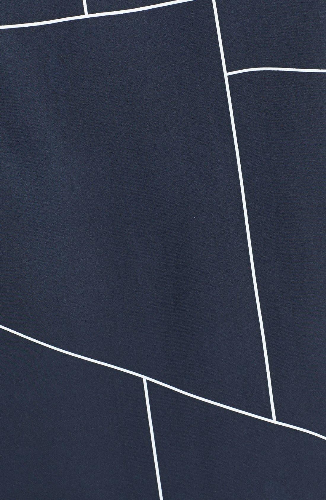 Alternate Image 3  - Theory 'Aquilina B.' Geometric Print Silk Top