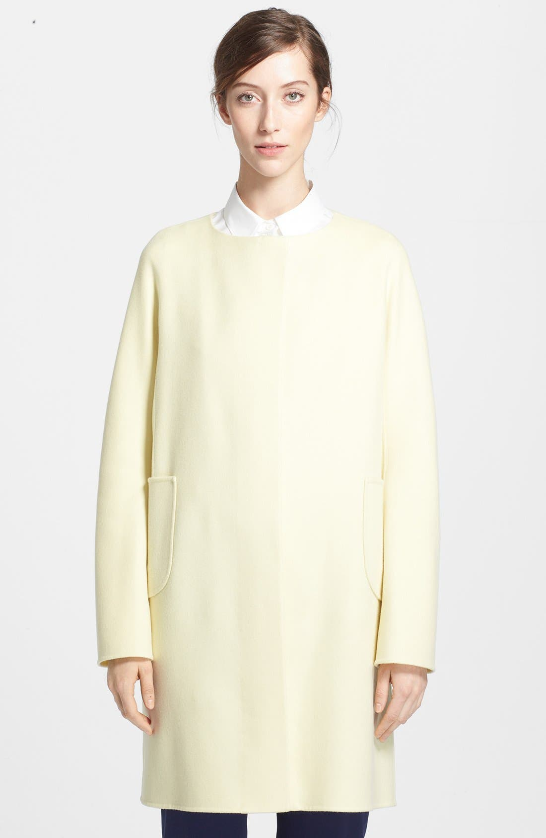 Alternate Image 1 Selected - Jil Sander Double Face Cashmere Coat