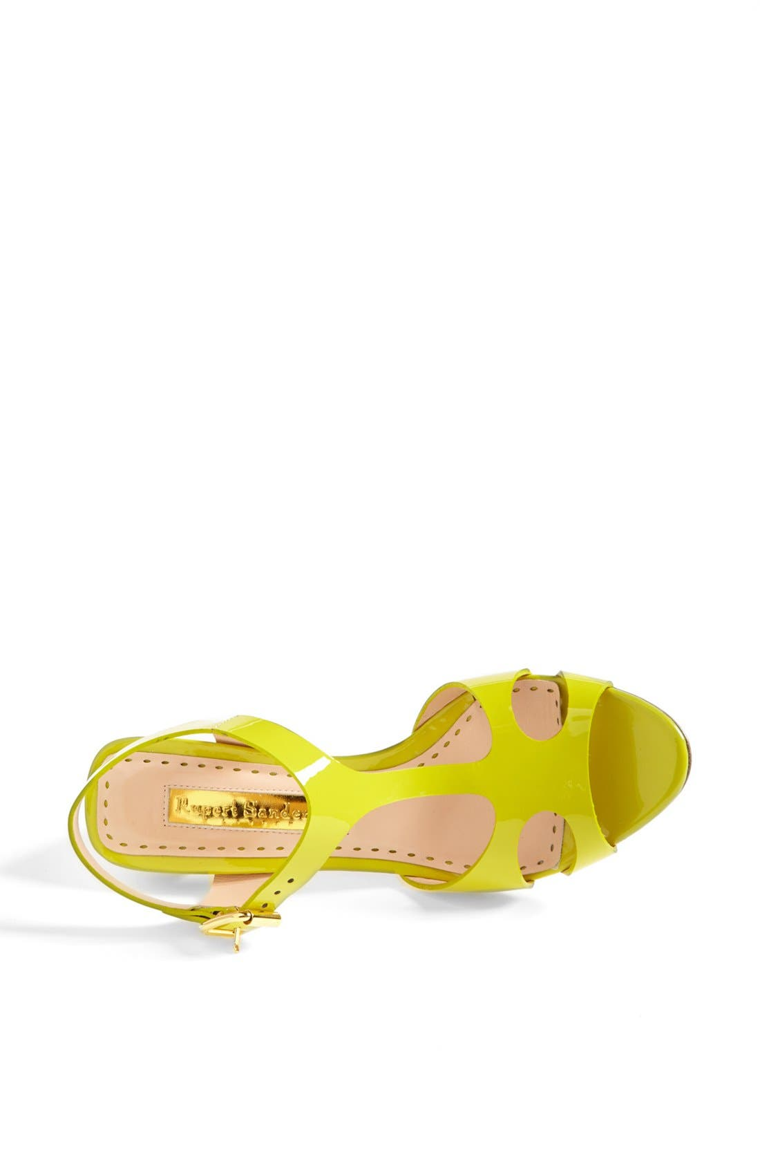Alternate Image 3  - Rupert Sanderson 'Ischia' Patent Leather Sandal