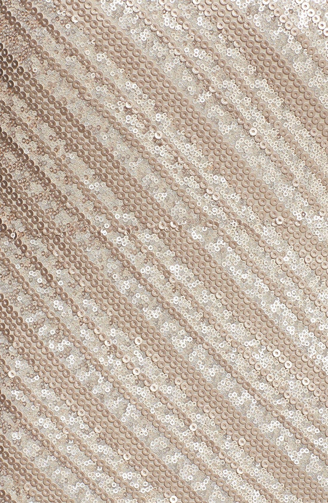 Alternate Image 3  - Tart Sequin Jersey Sheath Dress
