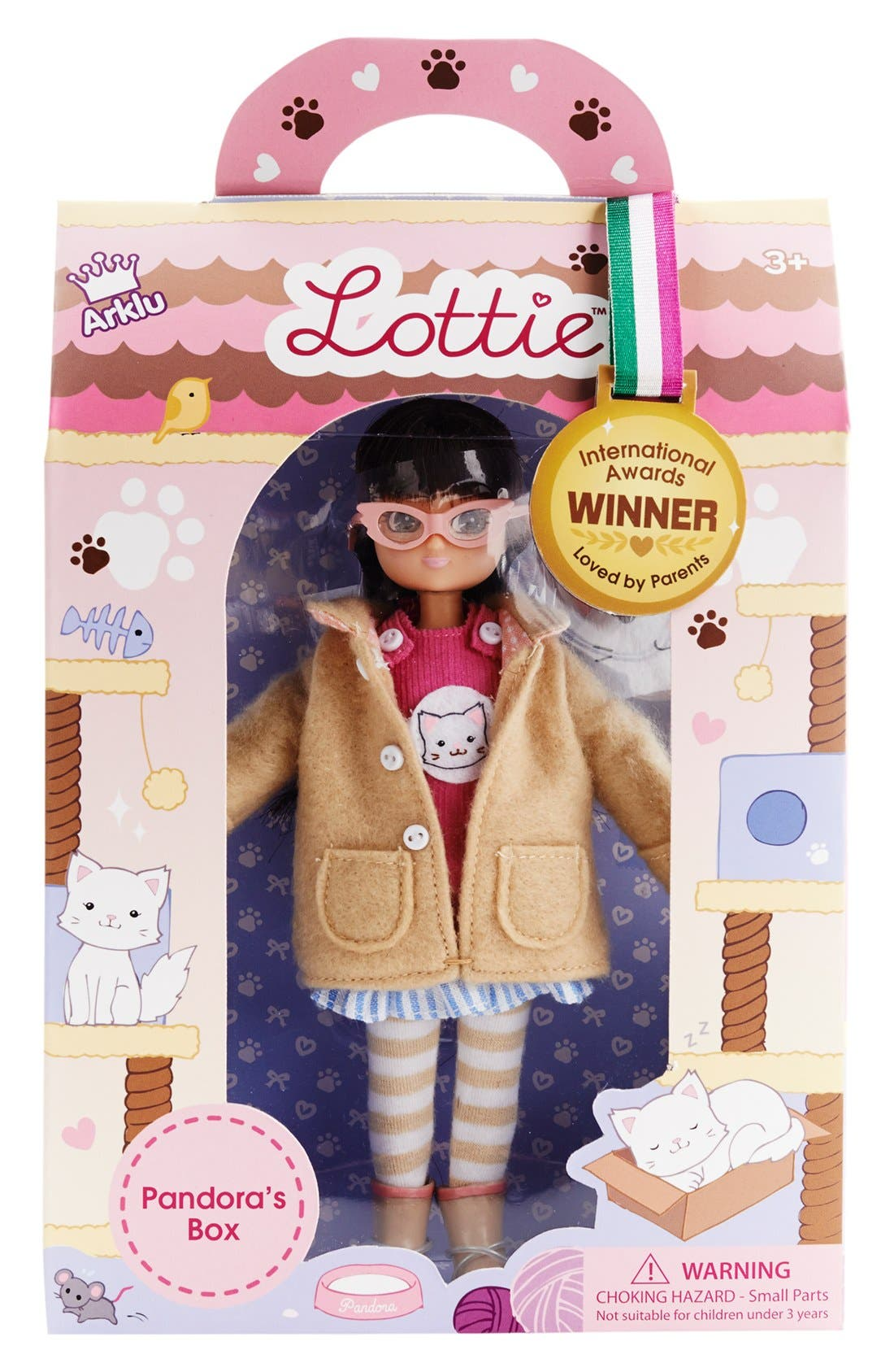 Alternate Image 7  - Schylling 'Lottie™ - Pandora's Box' Doll