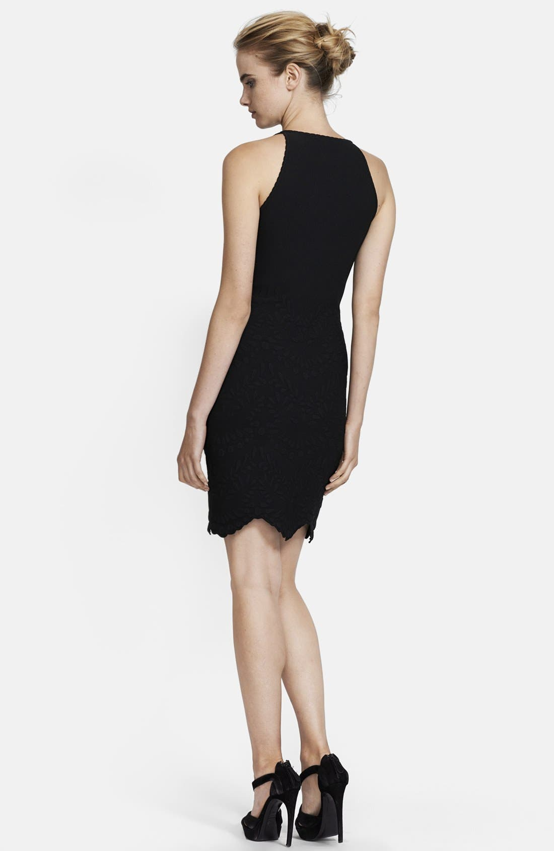 Alternate Image 2  - Alexander McQueen Sleeveless Scallop Hem Dress