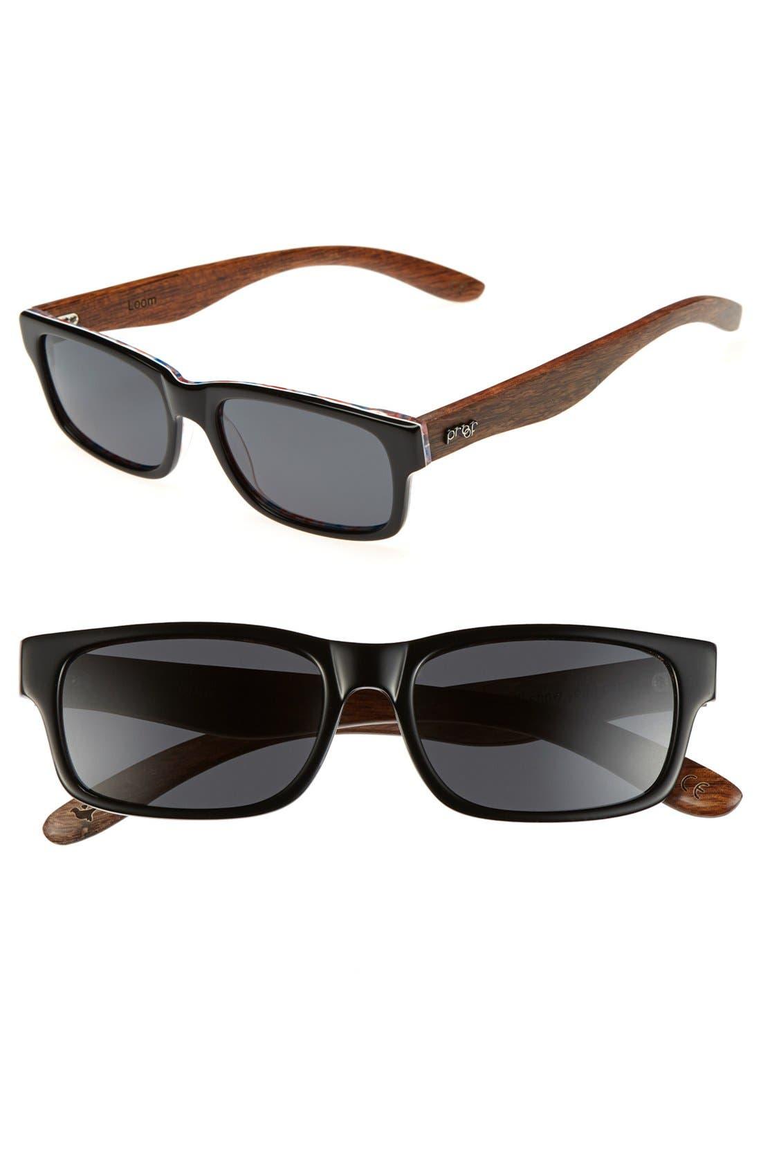 Alternate Image 1 Selected - Proof Eyewear 'Loom' 51mm Polarized Sunglasses