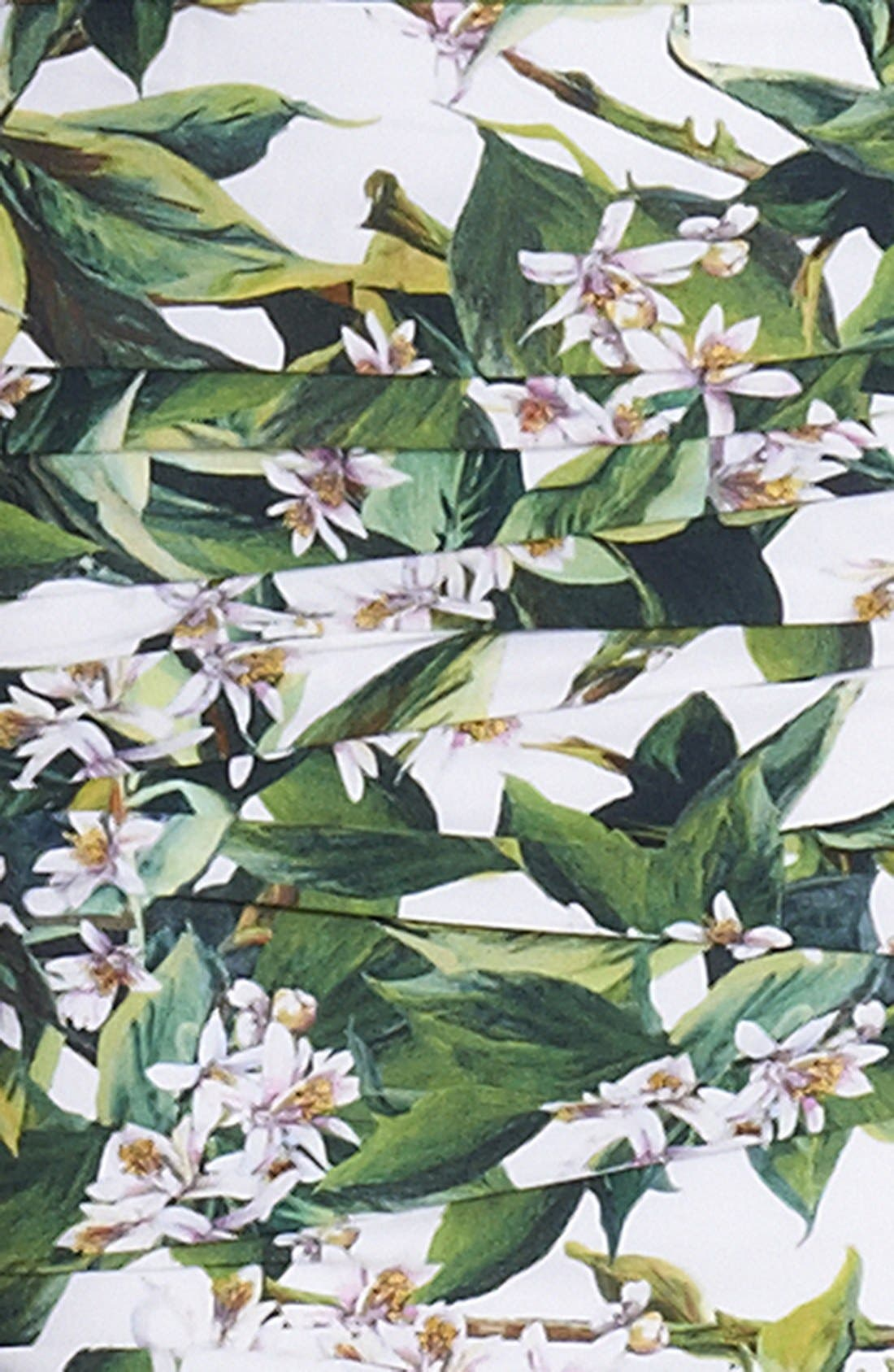 Alternate Image 3  - Dolce&Gabbana Lemon Print Ruched Gown