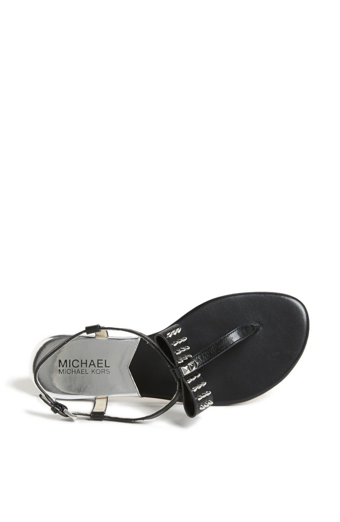 Alternate Image 3  - MICHAEL Michael Kors 'Devin' Thong Sandal