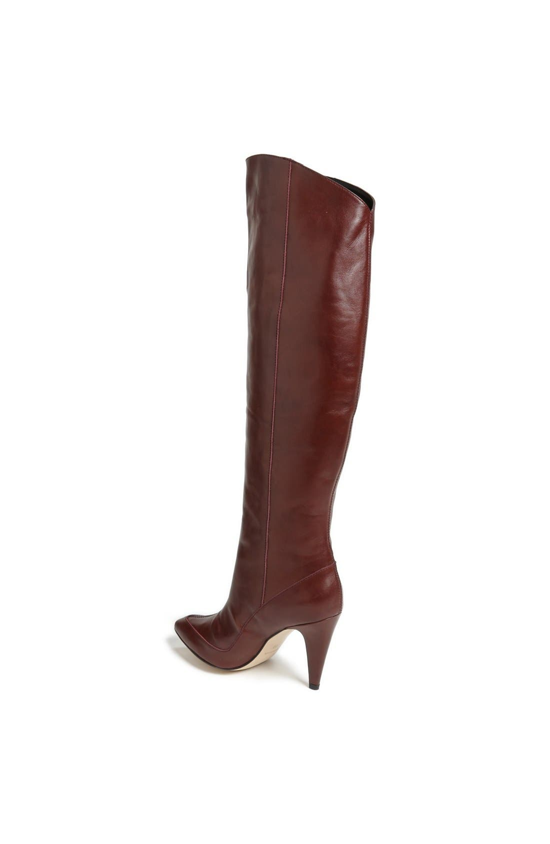 Alternate Image 2  - Topshop 'Betty' Asymmetric Over-the-Knee Boot