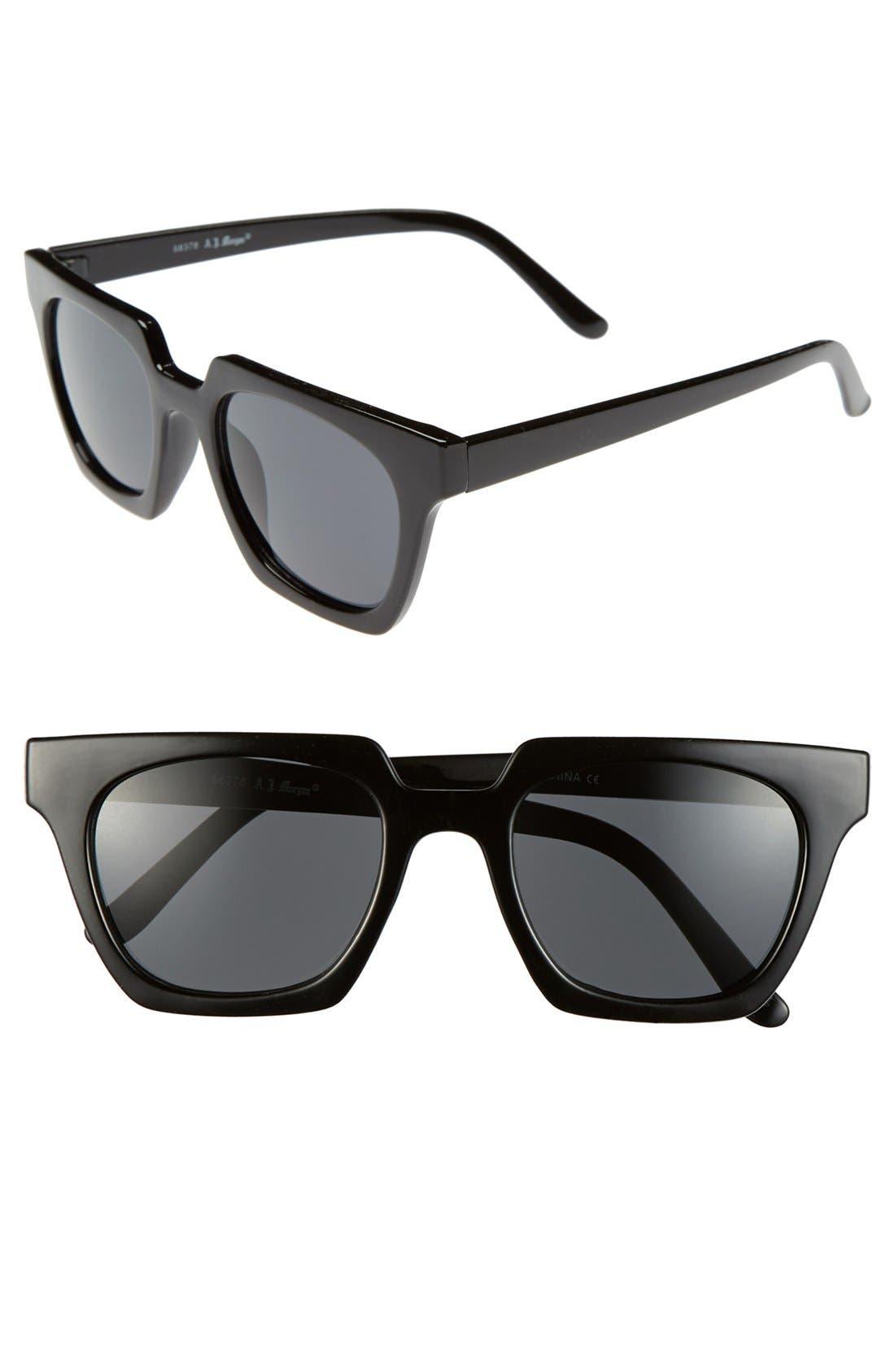 Alternate Image 1 Selected - A.J. Morgan 'Geo' 50mm Sunglasses