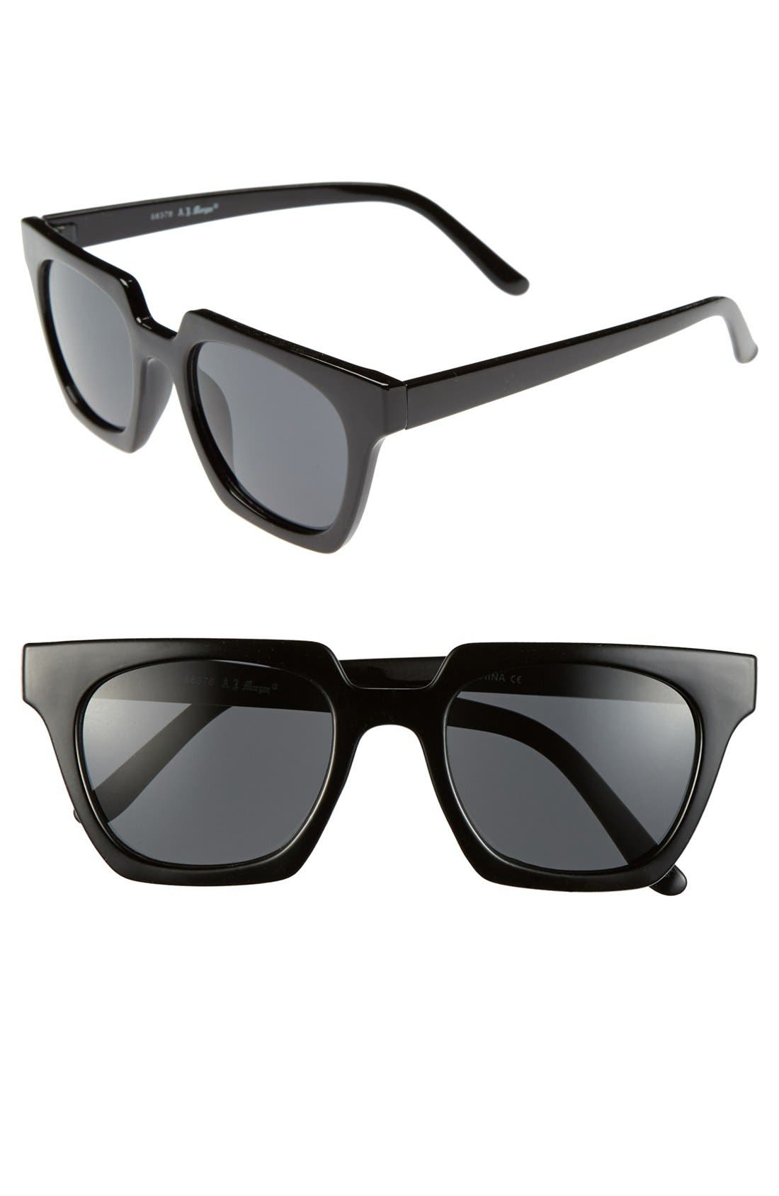 Main Image - A.J. Morgan 'Geo' 50mm Sunglasses