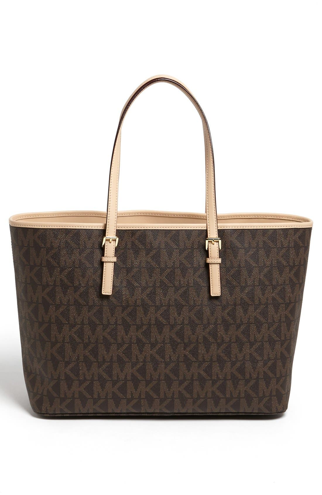 Alternate Image 4  - MICHAEL Michael Kors 'Jet Set - Medium' Tech Tote