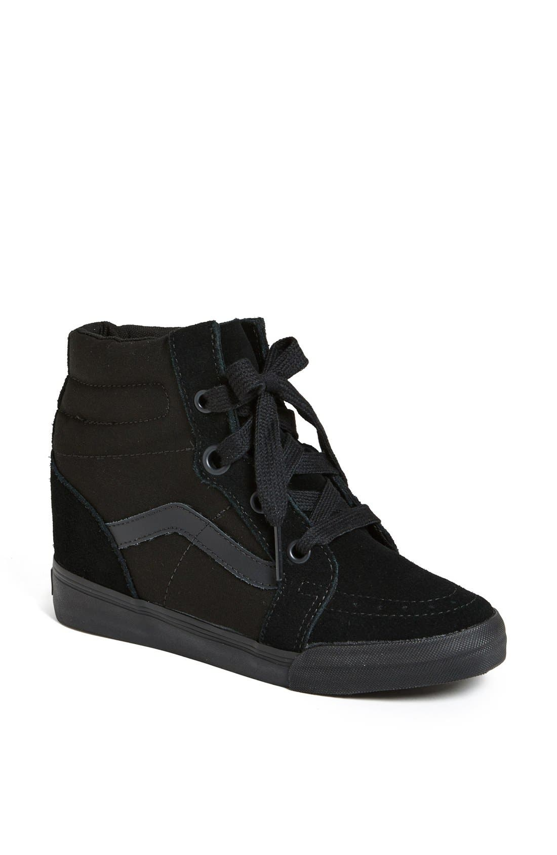 Alternate Image 1 Selected - Vans 'Sk8 Hi' Wedge Sneaker (Women)