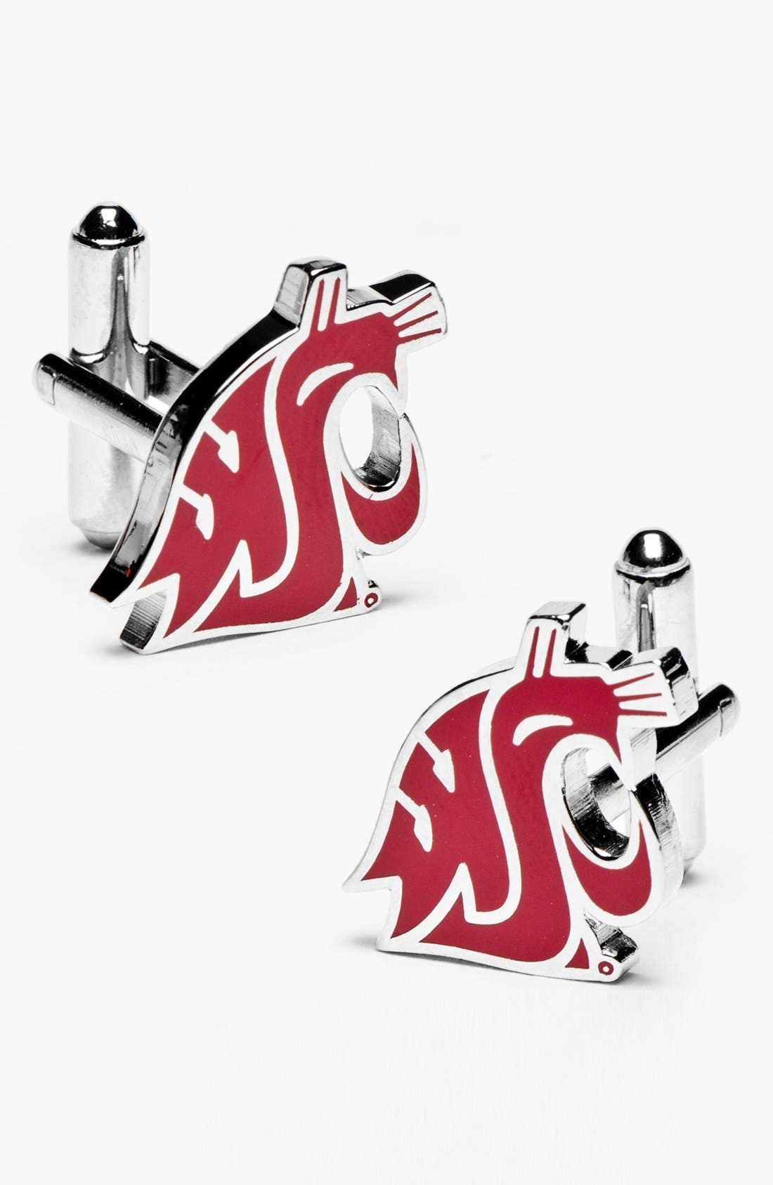 Main Image - Cufflinks, Inc. 'Washington State Cougars' Cuff Links