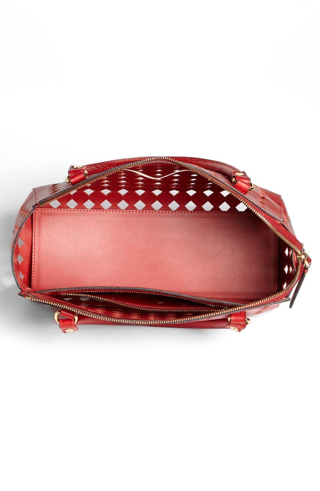 Alternate Image 3  - Marni Diamond Perforated Leather Crossbody Satchel