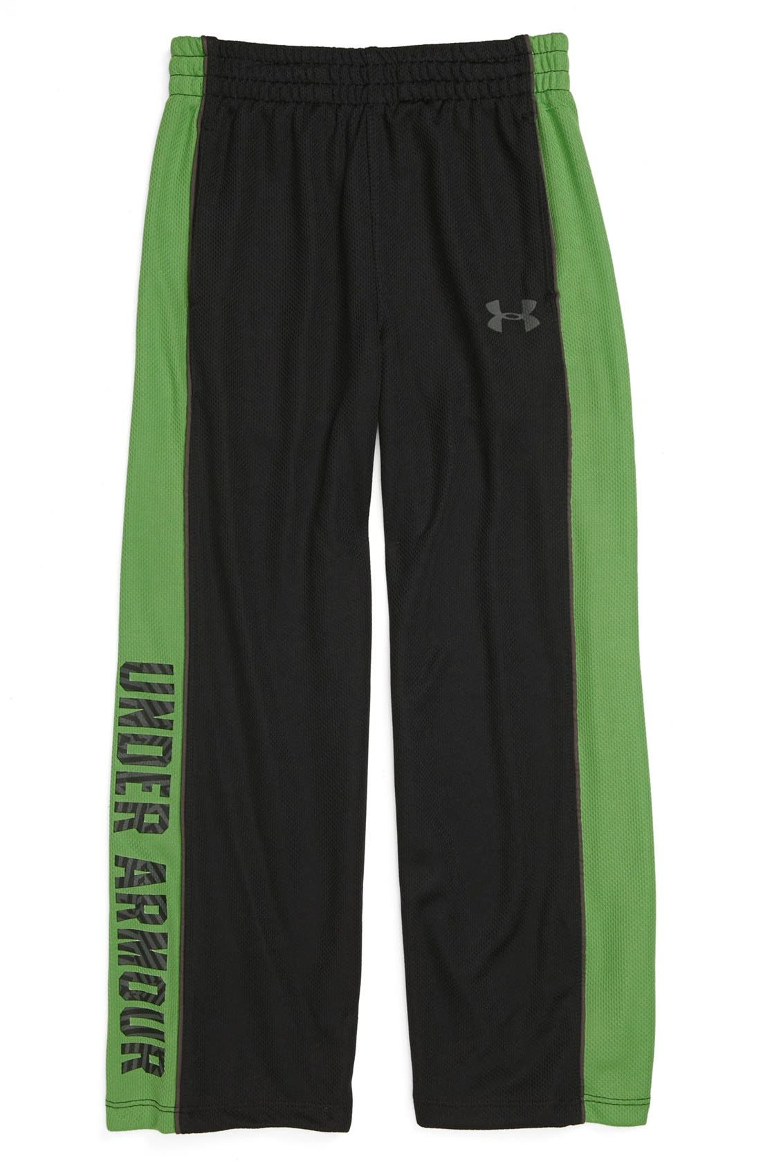 Alternate Image 1 Selected - Under Armour 'Favella' Mesh Pants (Little Boys)