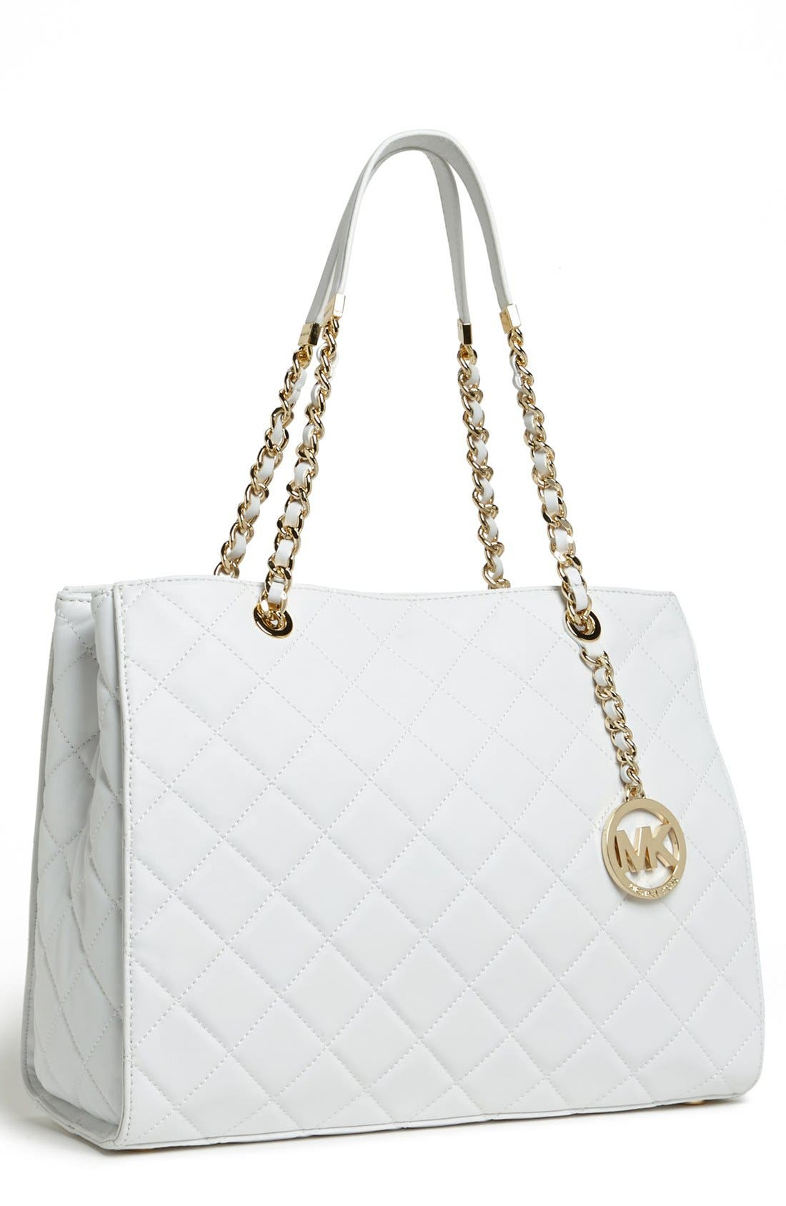 Alternate Image 1 Selected - MICHAEL Michael Kors 'Susannah' Quilted Leather Tote