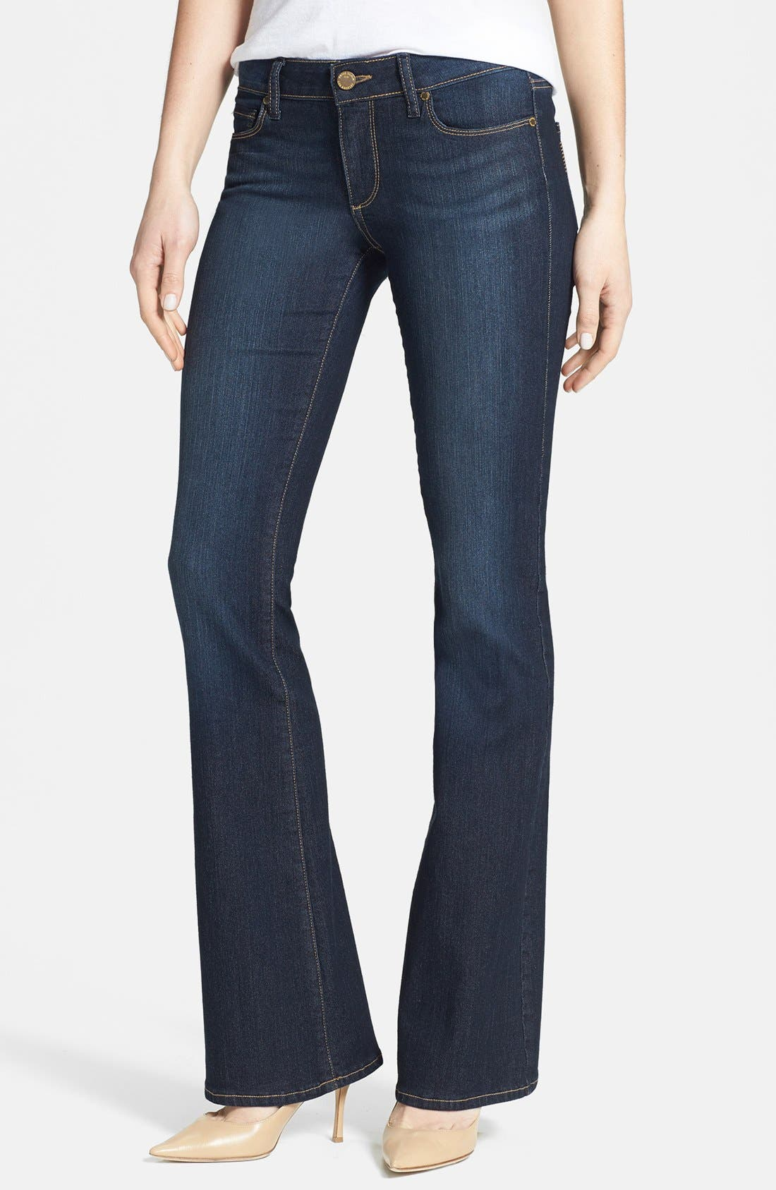 Alternate Image 1 Selected - Paige Denim 'Skyline' Bootcut Jeans (Moonrise)
