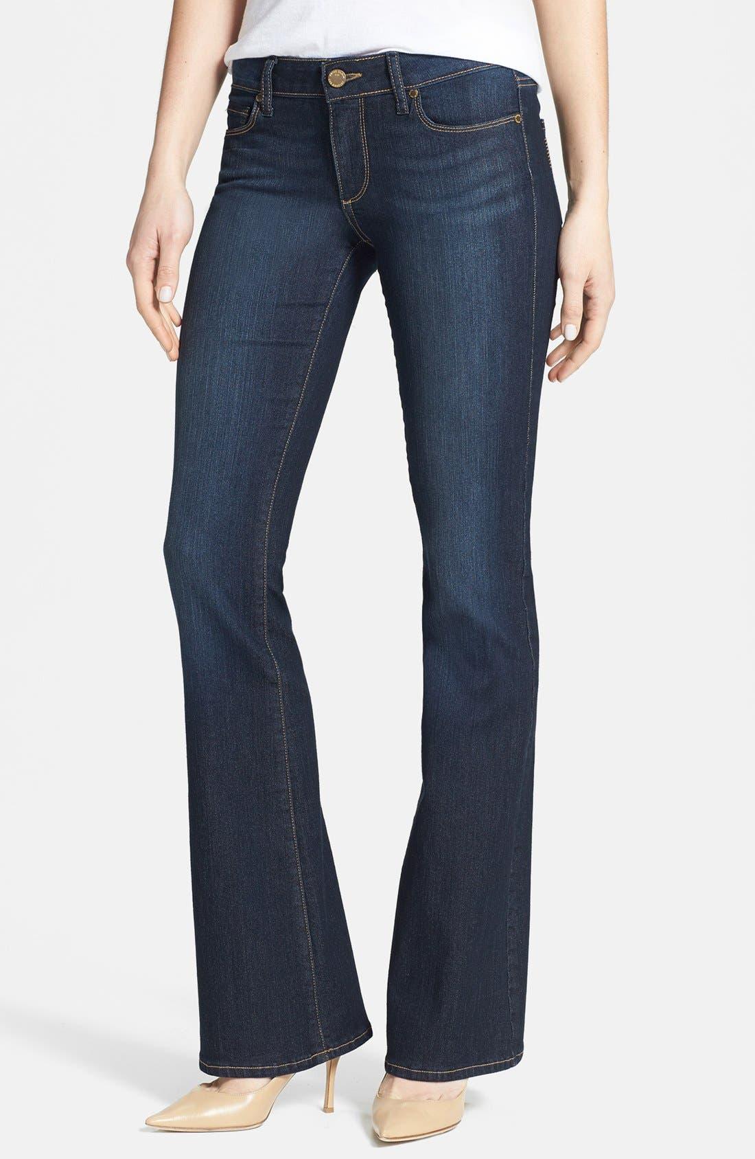 Main Image - Paige Denim 'Skyline' Bootcut Jeans (Moonrise)