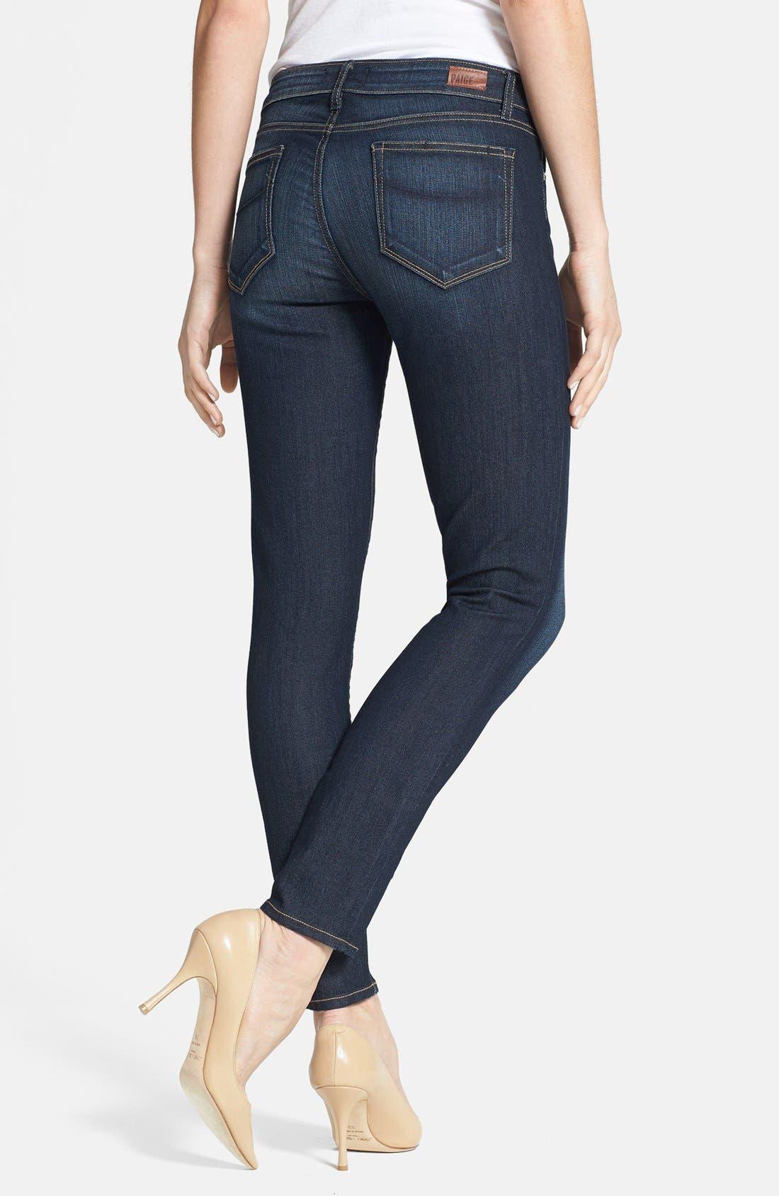 Alternate Image 2  - Paige Denim 'Verdugo' Skinny Ankle Jeans (Moonrise)