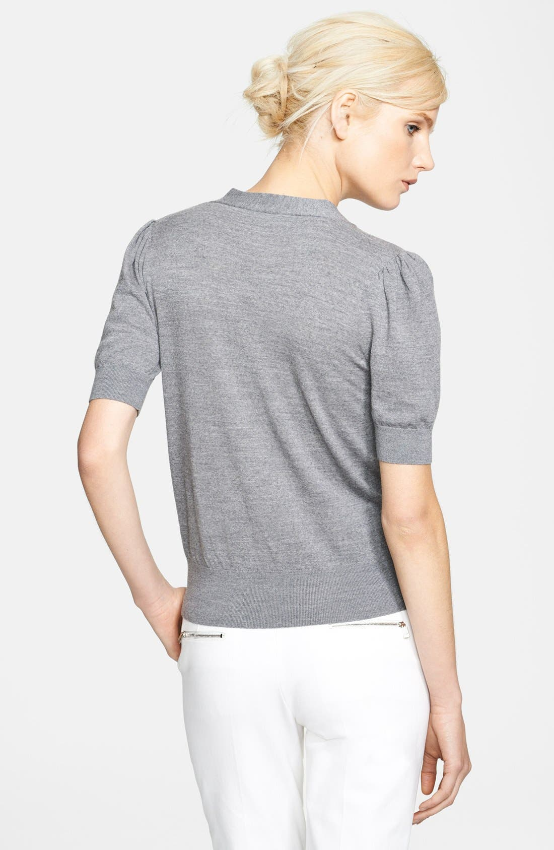 Alternate Image 2  - Michael Kors Merino Wool Pullover