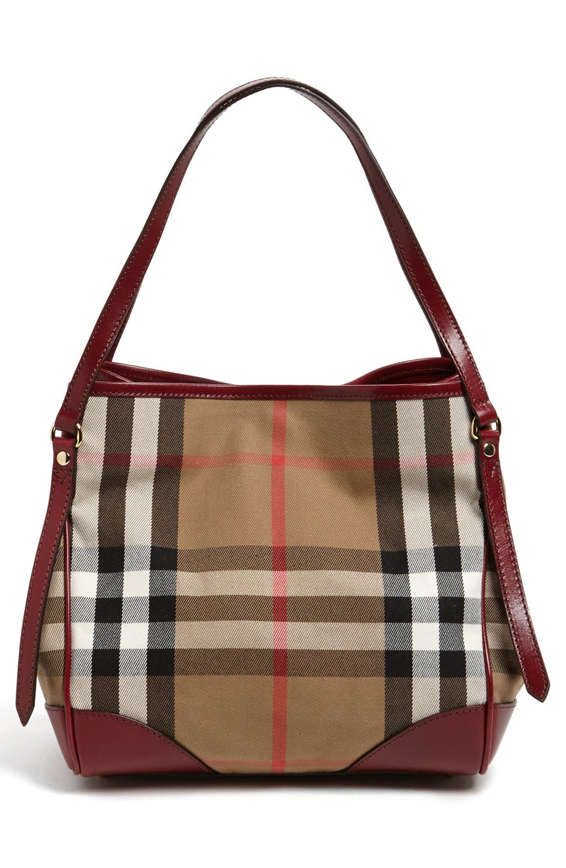 Alternate Image 4  - Burberry 'Small Canterbury' House Check Tote