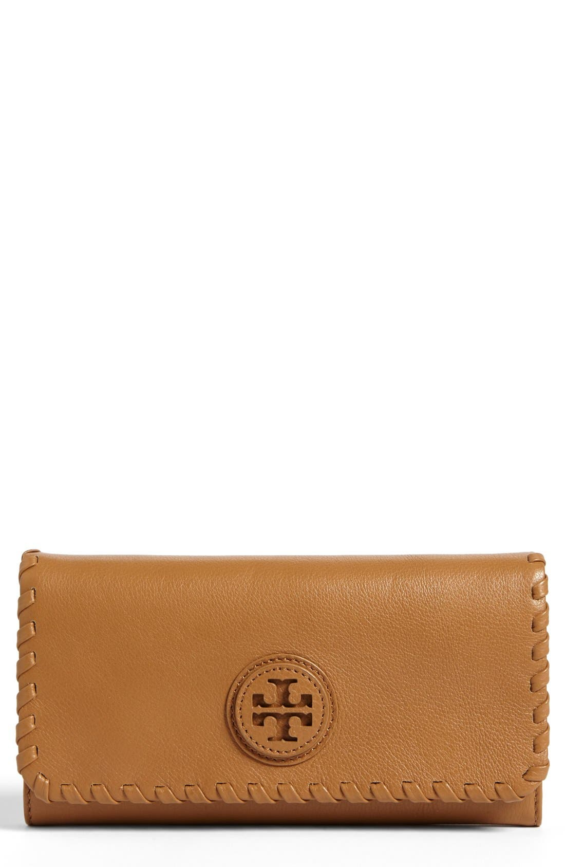 Main Image - Tory Burch 'Marion' Envelope Continental Wallet