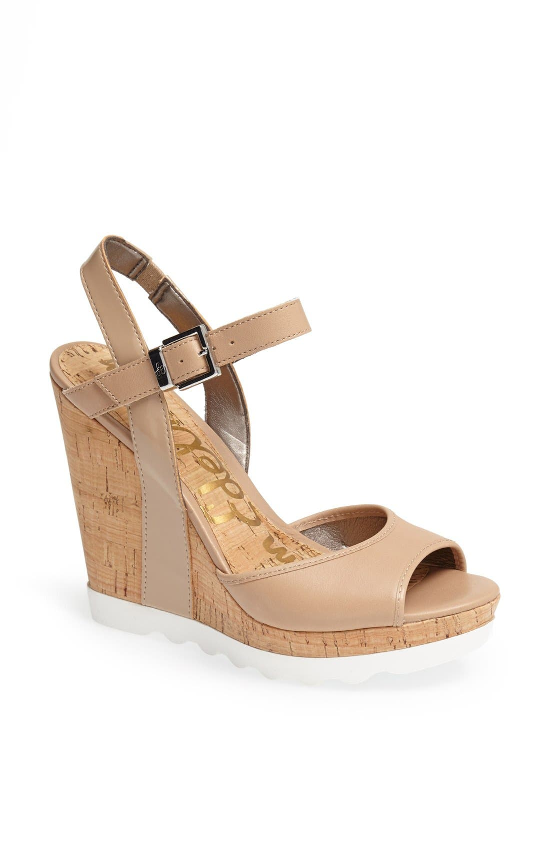 Alternate Image 1 Selected - Sam Edelman 'Karina' Wedge Sandal