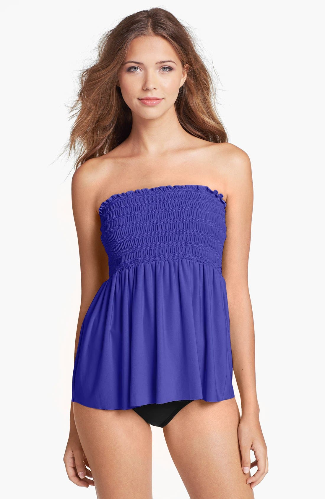 Main Image - Magic Suit by Miraclesuit® 'Vicki' Underwire Bandeau Tankini Top