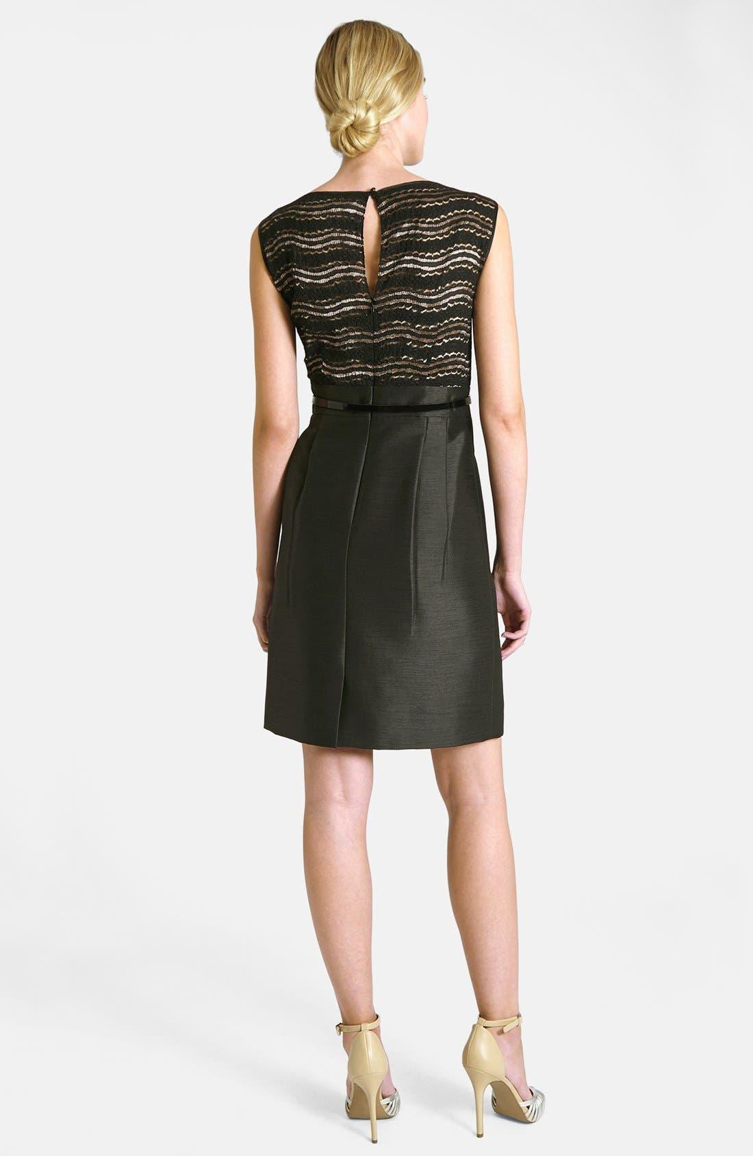 Alternate Image 4  - Tahari Lace Bodice Dress & Jacket