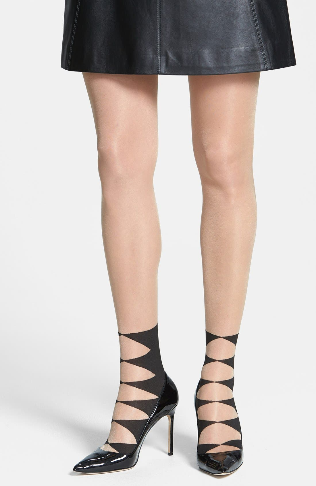 Main Image - Wolford 'Iliana' Tights