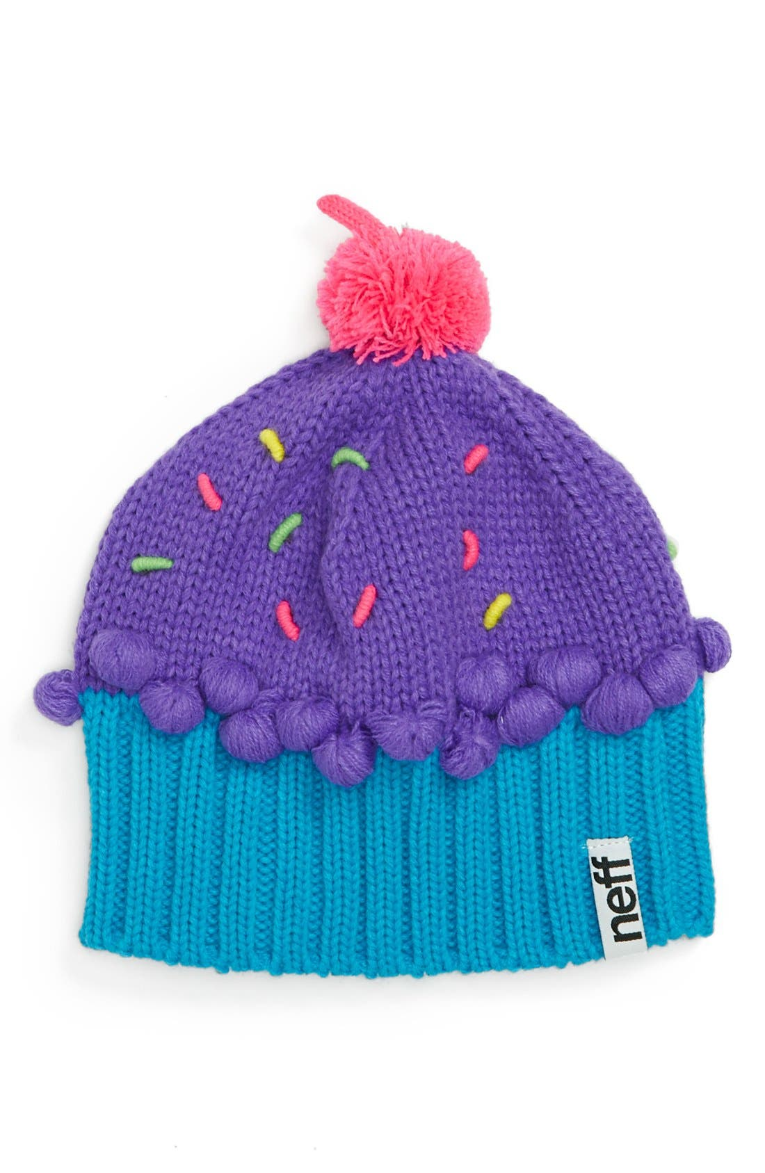 Alternate Image 1 Selected - Neff 'Cupcake' Beanie (Girls)