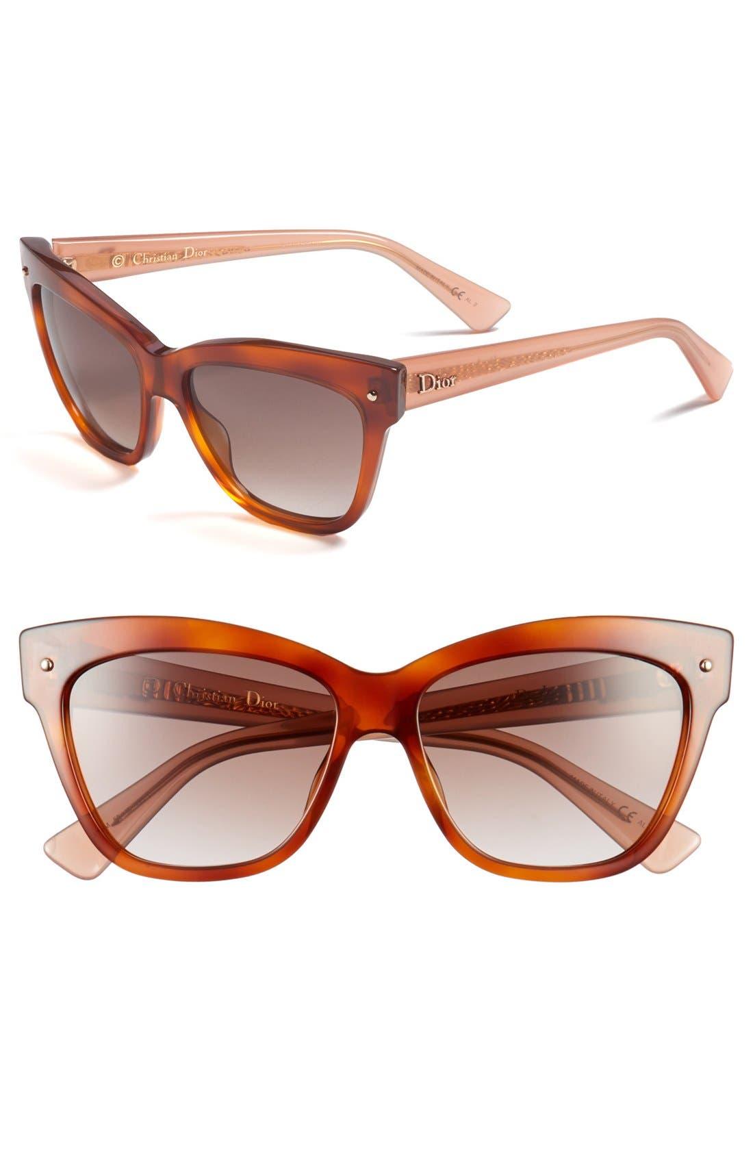 Alternate Image 1 Selected - Dior 'Jupon' 55mm Retro Sunglasses