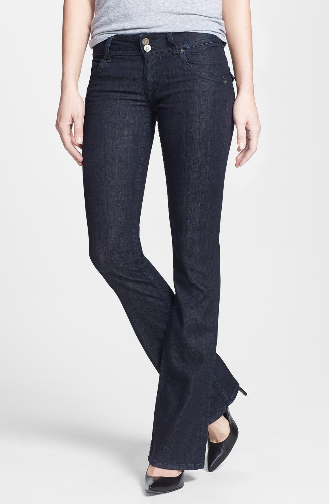 Main Image - Hudson Jeans Mid Rise Bootcut Jeans (Northern Star)
