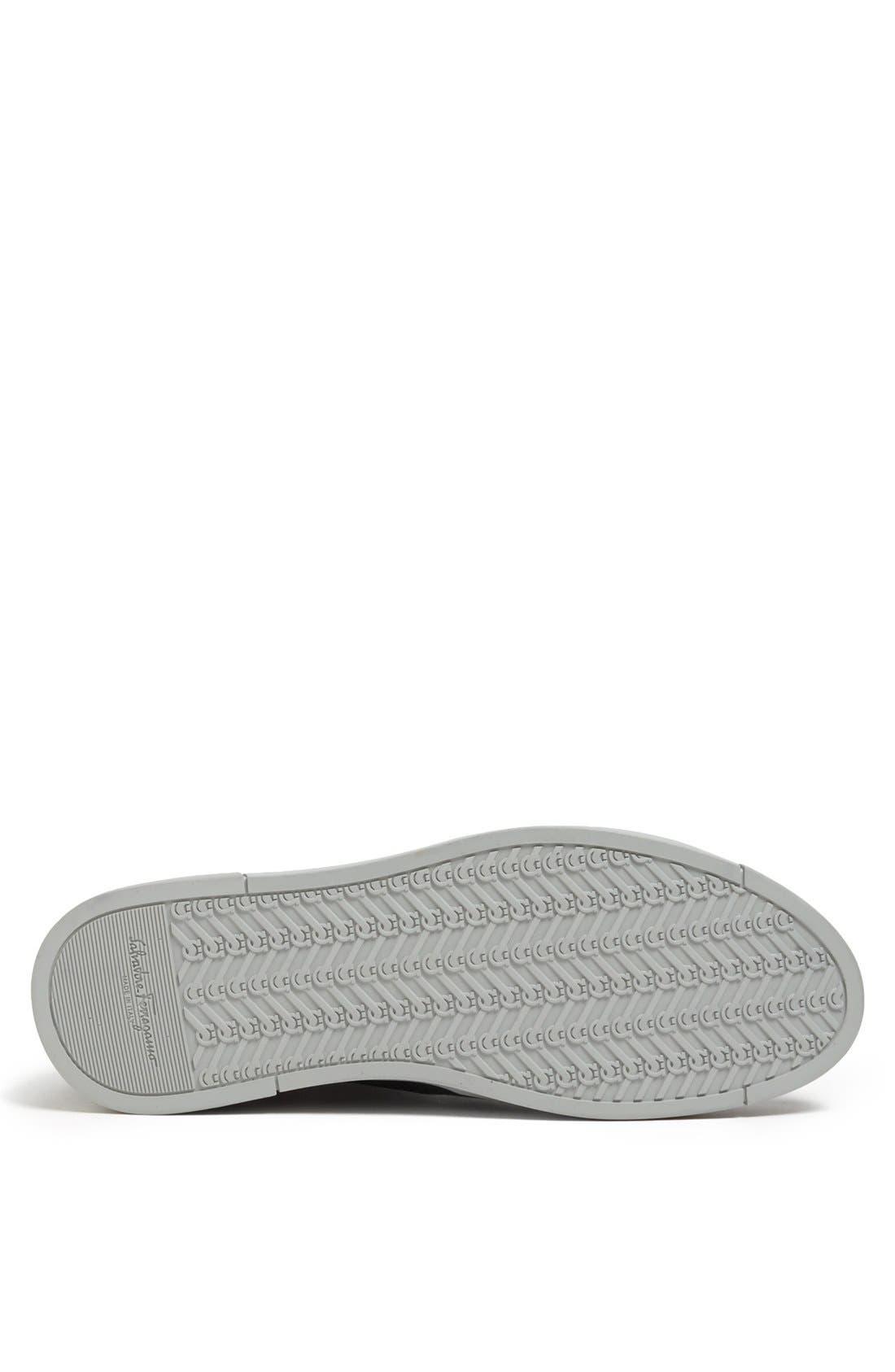 Alternate Image 4  - Salvatore Ferragamo 'Robert' High Top Sneaker