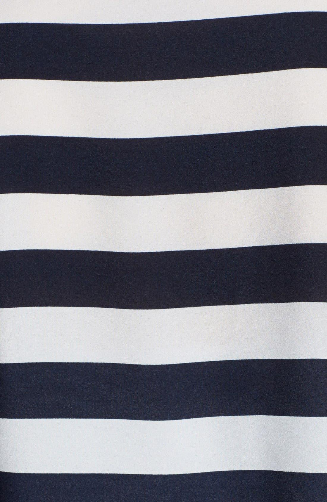 Alternate Image 3  - Anne Klein Stripe Block Two-Pocket Shirt