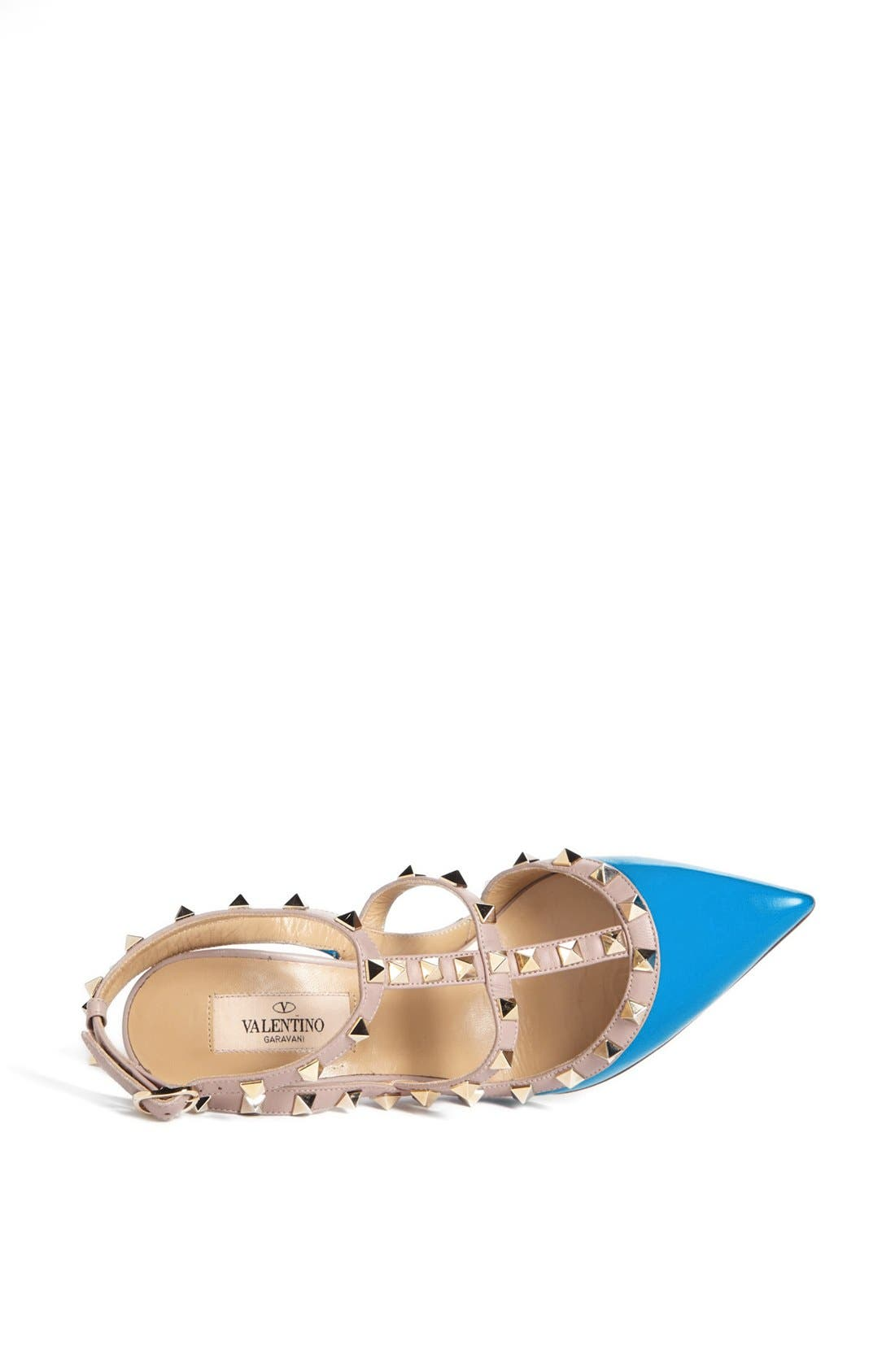 Alternate Image 3  - Valentino 'Rockstud' T-Strap Pump