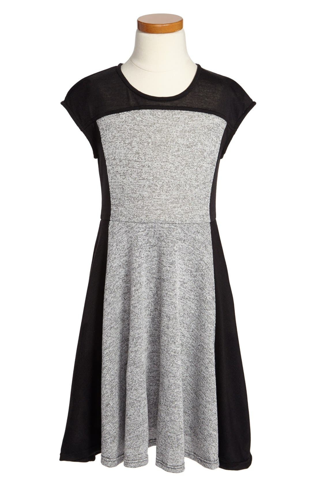 Alternate Image 1 Selected - Kiddo Knit Dress (Big Girls)
