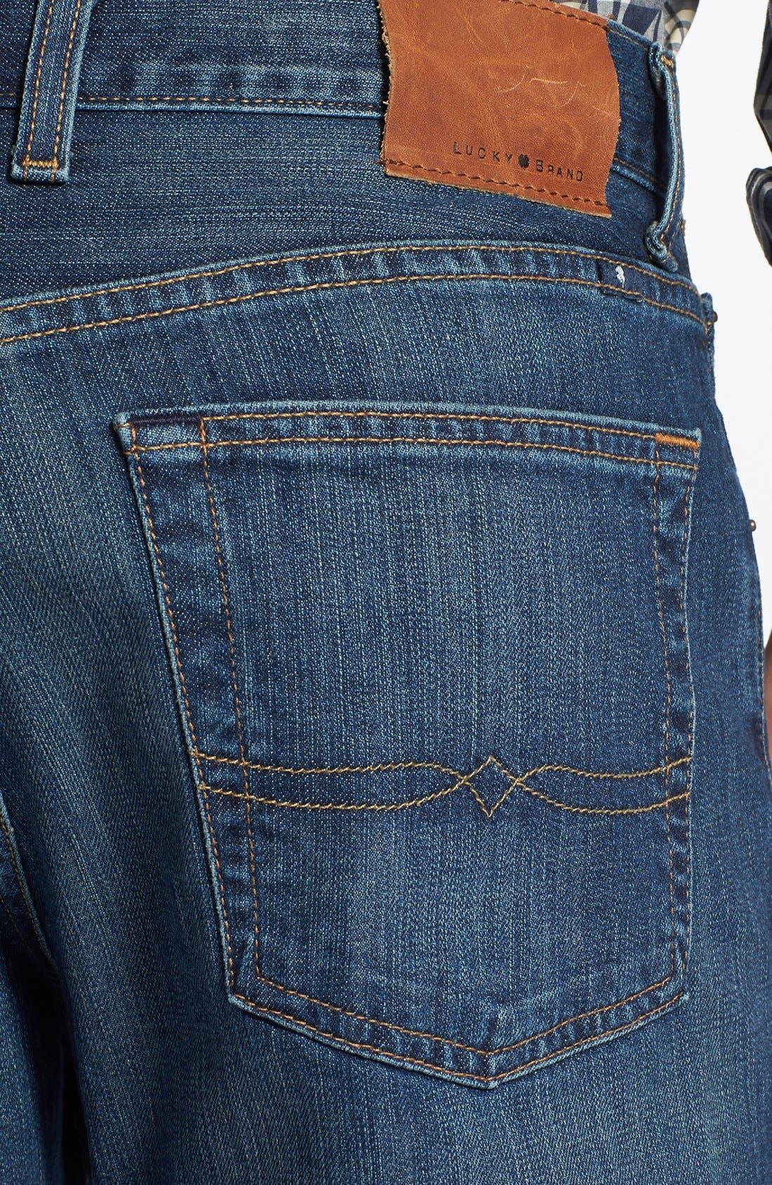 Alternate Image 4  - Lucky Brand '481' Relaxed Fit Jeans (Mazatlan)