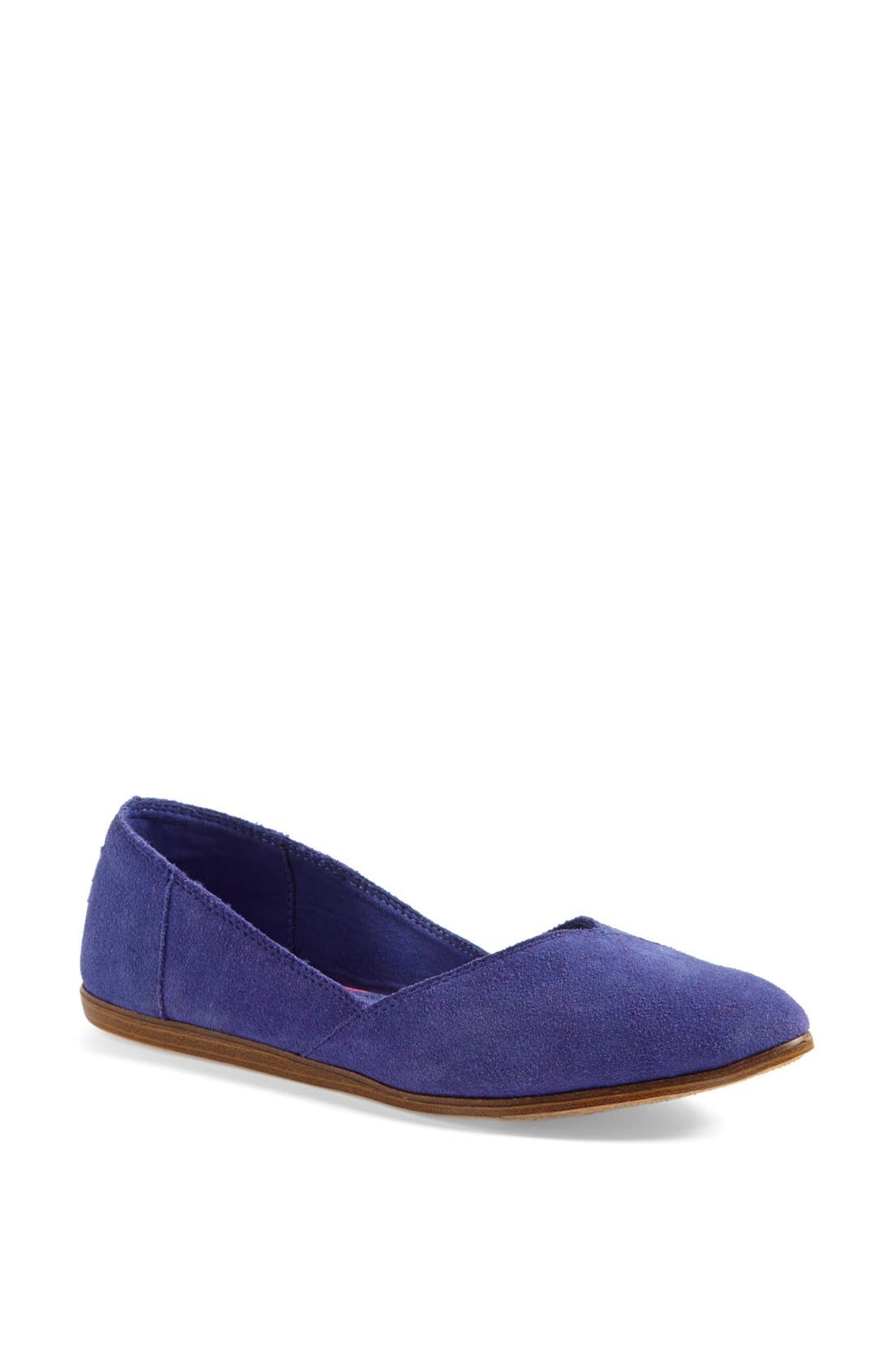 Alternate Image 1 Selected - TOMS 'Jutti' Slip-On (Women)
