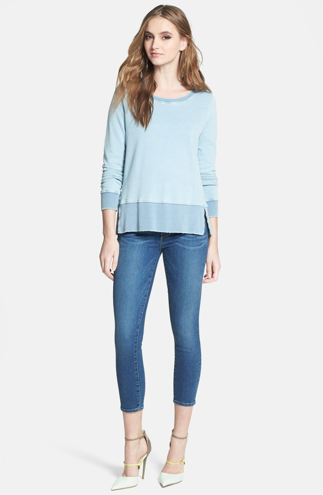 Alternate Image 4  - Paige Denim 'Verdugo' Crop Skinny Jeans (Nevada)