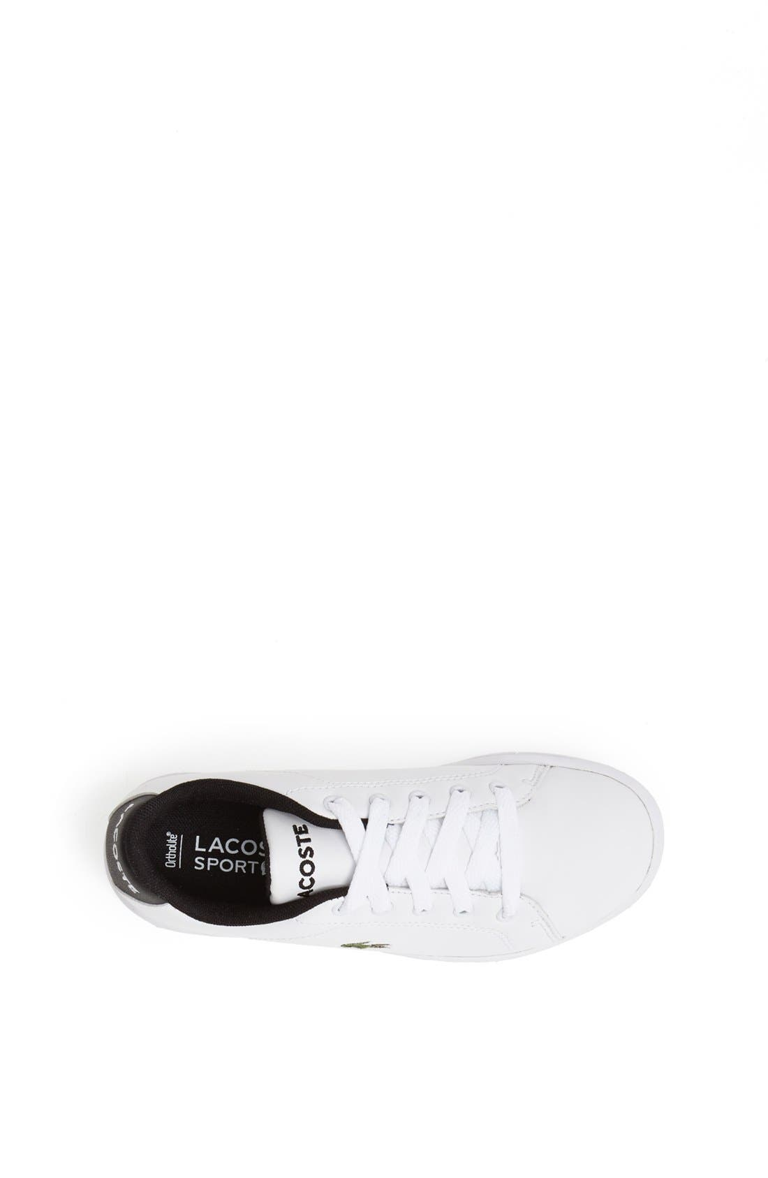 Alternate Image 3  - Lacoste 'Carnaby' Sneaker (Baby, Walker, Toddler, Little Kid & Big Kid)